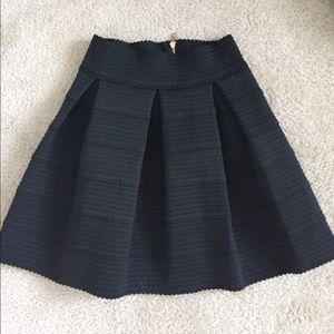Honey Punch Black Skirt